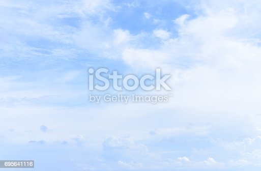 istock blue sky with cloud 695641116