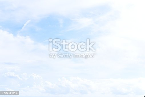 istock blue sky with cloud 695641262