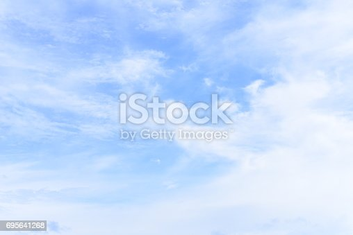 istock blue sky with cloud 695641268