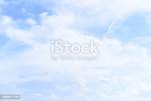 istock blue sky with cloud 695641288