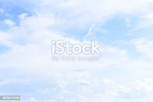 istock blue sky with cloud 695641340