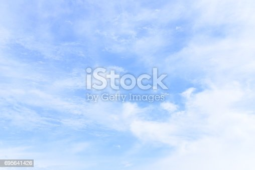 istock blue sky with cloud 695641426