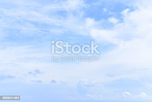 istock blue sky with cloud 695641464
