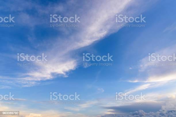 Błękitne Niebo Z Chmurą - zdjęcia stockowe i więcej obrazów Atmosfera - Wydarzenia