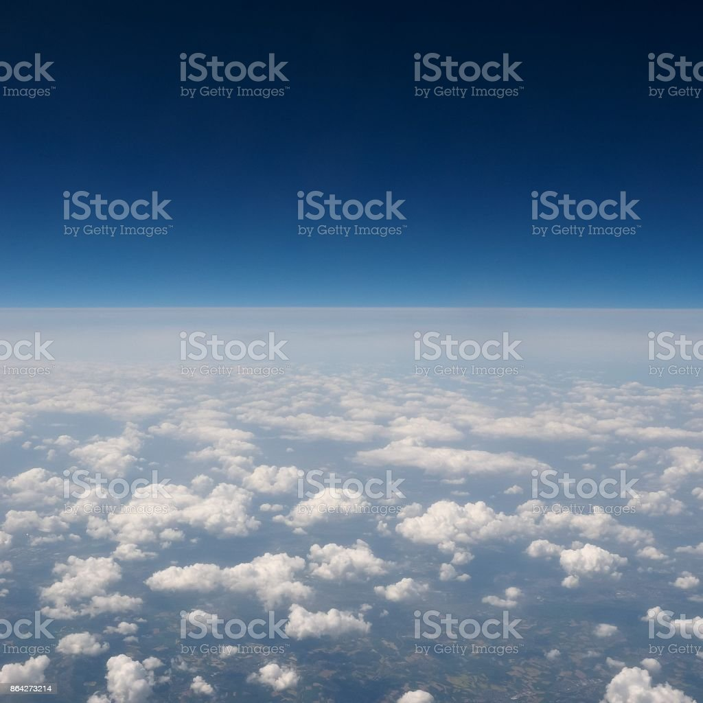 blue sky with clouds background royalty-free stock photo