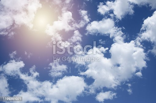 487791430istockphoto Blue sky with clouds 1199351071