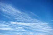 Blue sky with clouds. Sky background