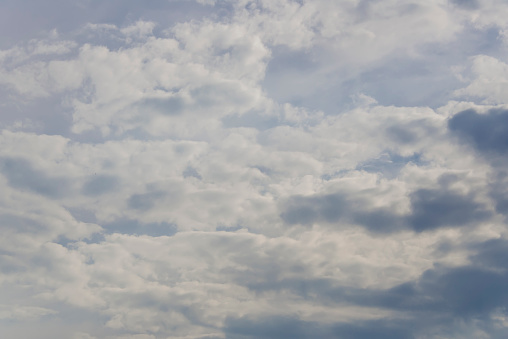 937694668 istock photo Blue sky with clouds,summer sky,nature background. 1130328543