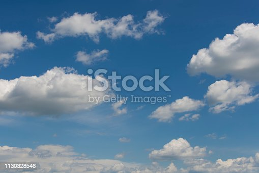 937694668istockphoto Blue sky with clouds,summer sky,nature background. 1130328546