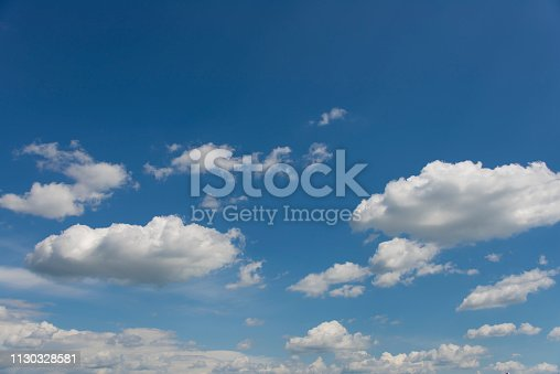 937694668istockphoto Blue sky with clouds,summer sky,nature background. 1130328581