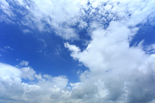 937694668 istock photo Blue sky with cloud,summer sky,nature background 1052295038
