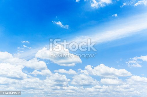 937694668istockphoto Blue sky with cloud,summer sky,nature background 1140149537