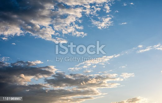 937694668istockphoto Blue sky with cloud,summer sky,nature background 1151989957