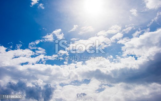 937694668istockphoto Blue sky with cloud,summer sky,nature background 1151990632
