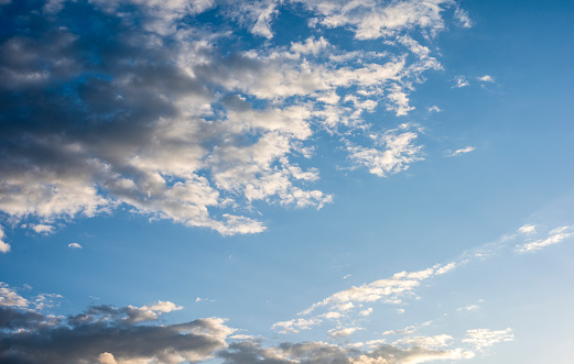 937694668 istock photo Blue sky with cloud,summer sky,nature background 1151990634