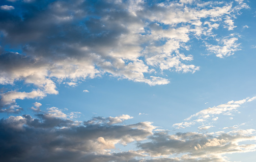 937694668 istock photo Blue sky with cloud,summer sky,nature background 1151991175