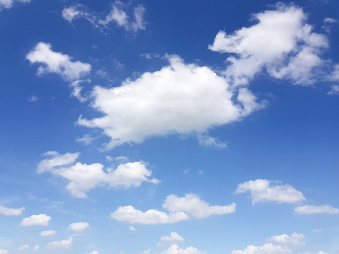 937694668 istock photo Blue sky with cloud,summer sky,nature background 1160781858