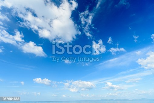 937694668istockphoto Blue sky with cloud,summer sky,nature background 937694666