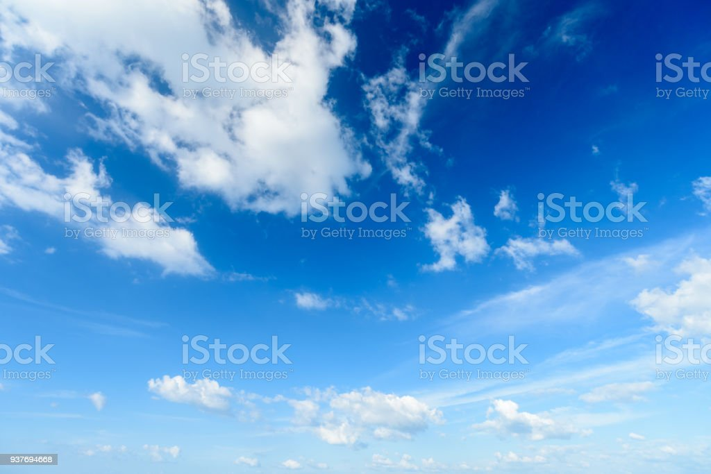 Blue sky with cloud,summer sky,nature background