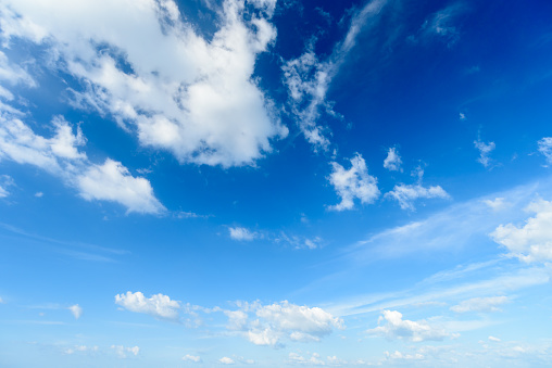 istock Blue sky with cloud,summer sky,nature background 937694668