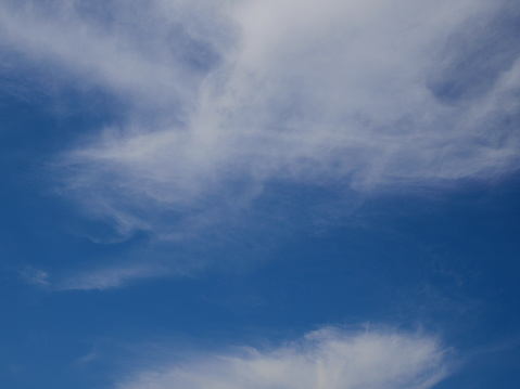 1010238190 istock photo Blue sky with scattered clouds 1142854144