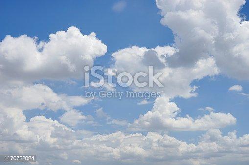 Cloud - Sky, Cloudscape, Sky, Above, Blue