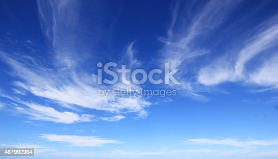 186849963istockphoto Blue sky with soft white clouds 467992964