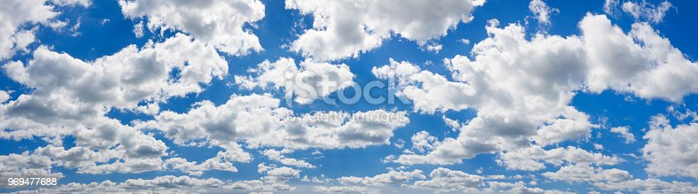 istock blue sky with white clouds landscape panorama 969477688