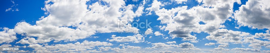 istock blue sky with white clouds landscape panorama 969671368