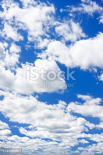 istock blue sky with white clouds 1144690801