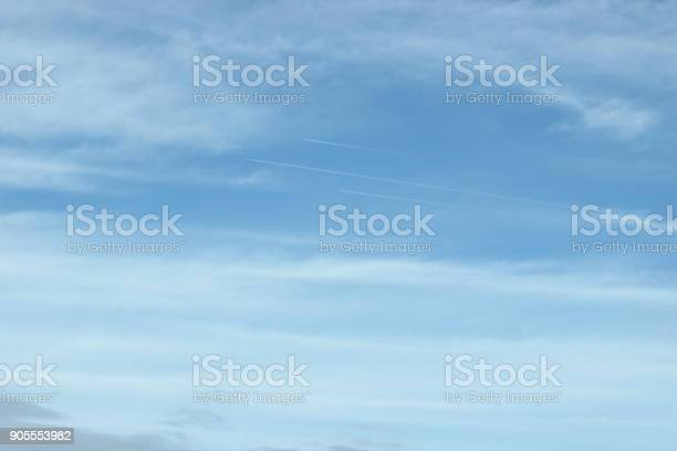 Photo of Blue sky with white clouds