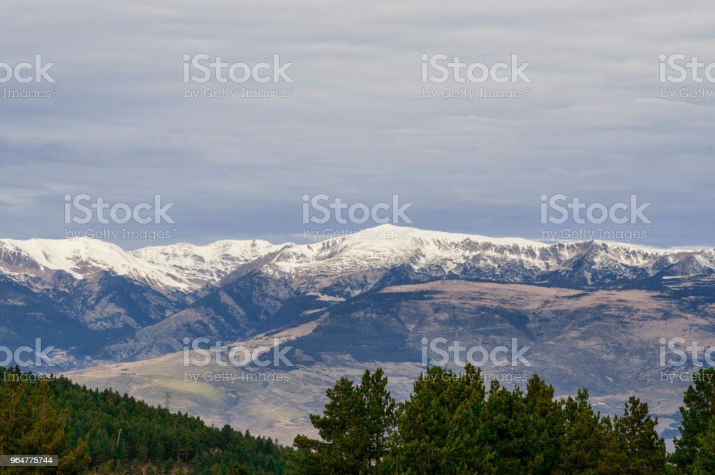Blue sky without sun royalty-free stock photo