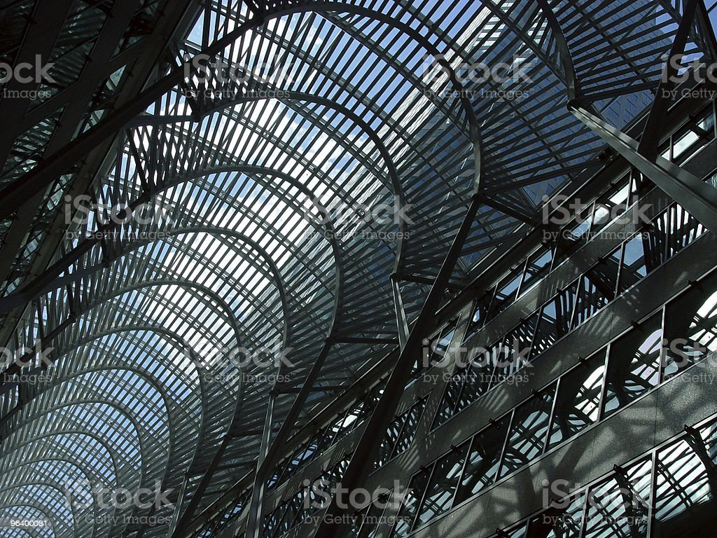 Blue skylight in Toronto - Royalty-free American Culture Stock Photo
