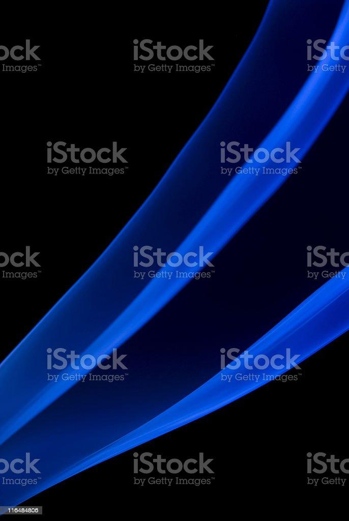 Blue Smoke Abstract stock photo