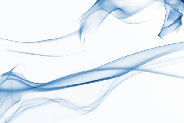 blue smoke backgrounds - series stock photo