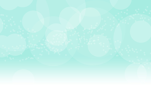 istock Blue soap bubbles on blue background. 870789082