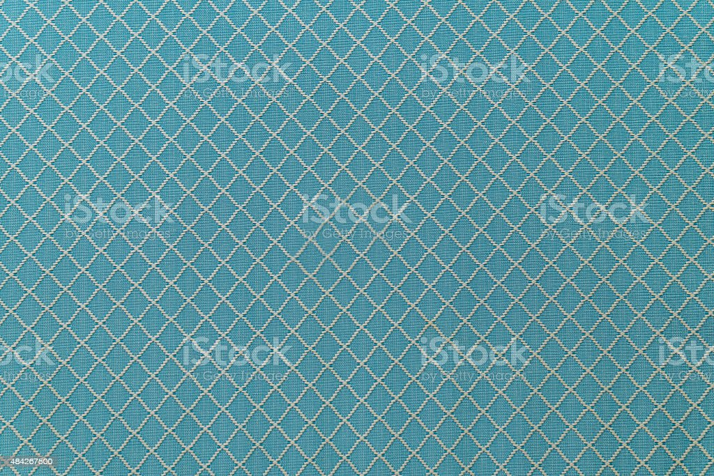 Blue Sofa Linen Fabric Texture For Background Stock Photo - Download Image Now - IStock