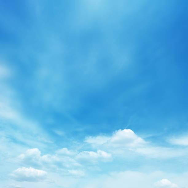 Blue soft cloud background stock photo