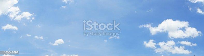 186849963 istock photo Blue soft cloud sky background 1153047597