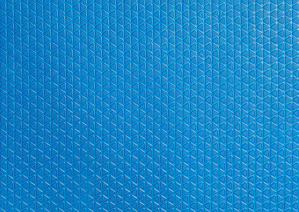Blue Soft Rubber floor texture background stock photo