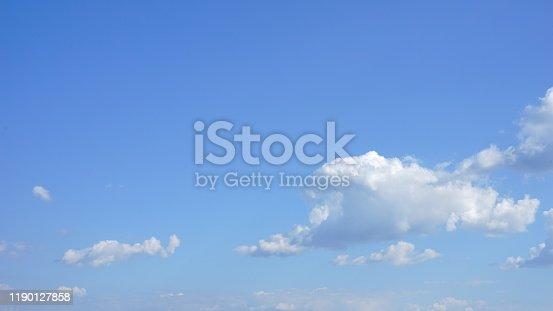 878607638 istock photo Blue soft sky 1190127858