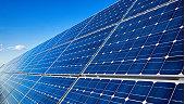 istock Blue solar panels 1226088002