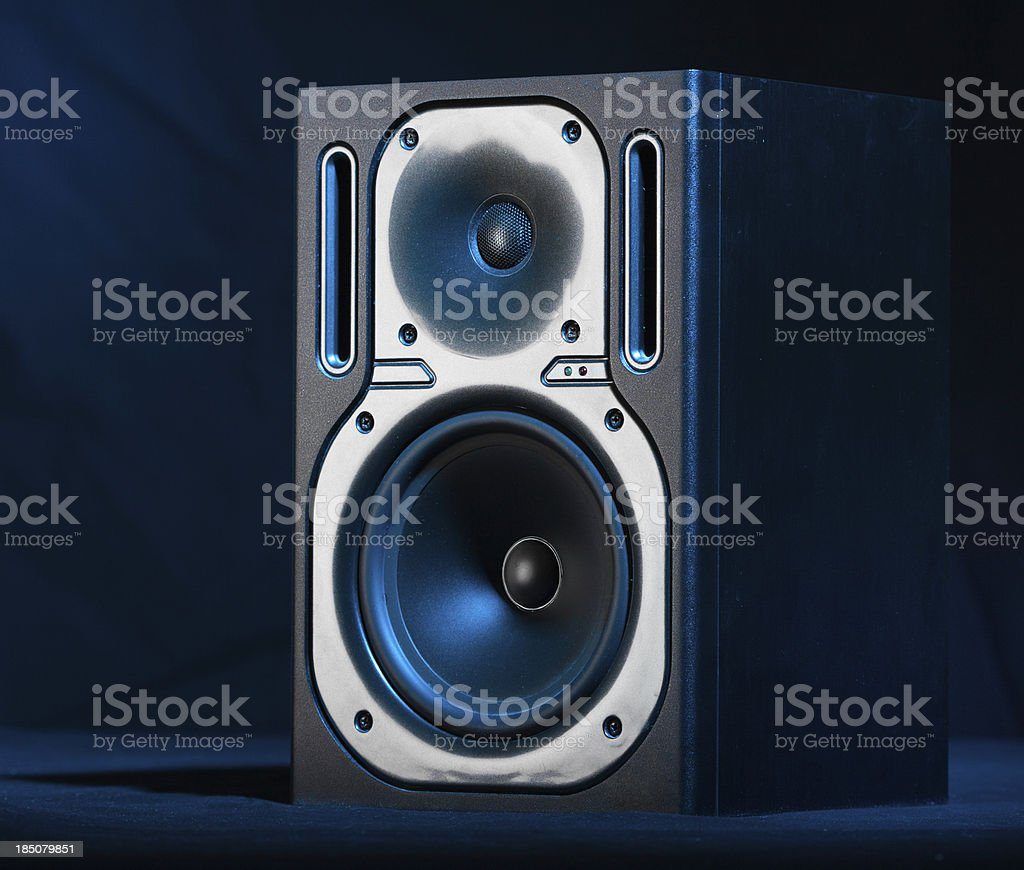 Blue Sound royalty-free stock photo