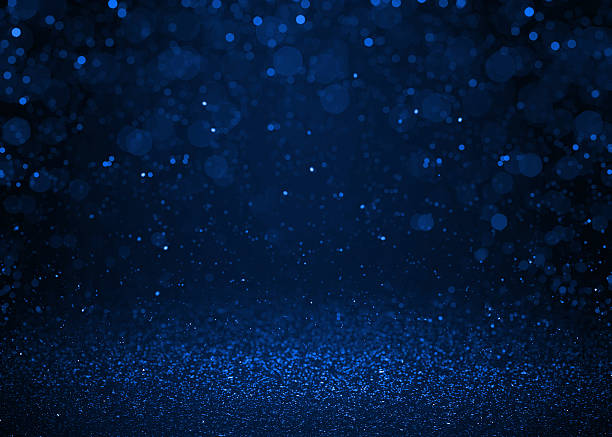 blasku niebieski brokat tło abstrakcyjne. - holiday background zdjęcia i obrazy z banku zdjęć
