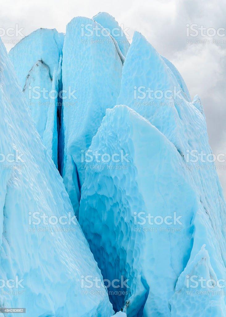 Blue Spires stock photo