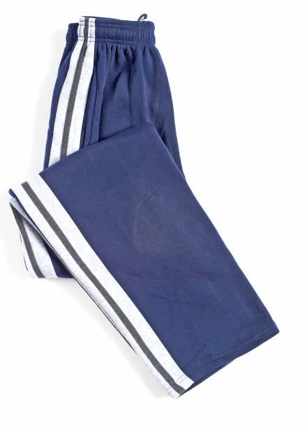 blaue sport hose, jogginghose - trainingshose stock-fotos und bilder