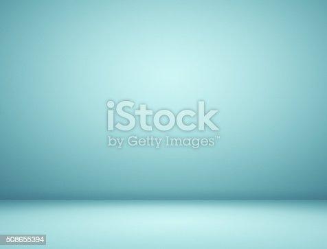 istock Blue spotlight background 508655394