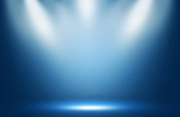 Blue spotlight effect night background. Blue spotlight effect night background. spot lit stock pictures, royalty-free photos & images