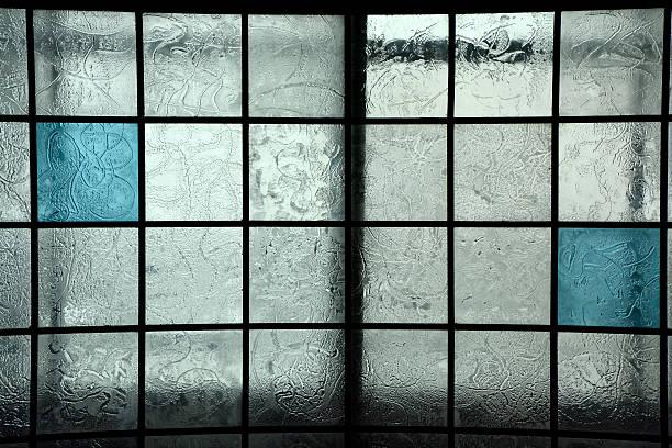 Blue square Glas – Foto