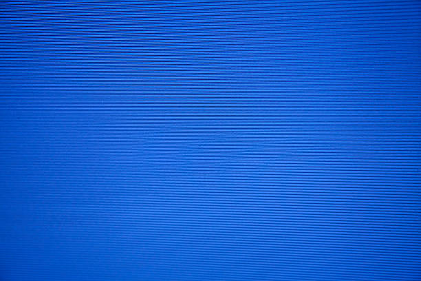 blue sreen stripes parrallel lines semi translucent glass plastic - green screen background stock photos and pictures